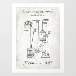 Elevator Art Print