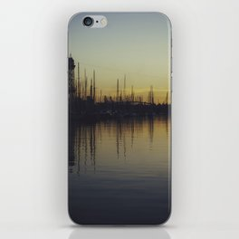 Waveform sunset iPhone Skin