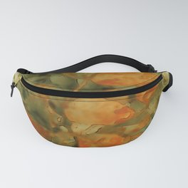 Autumn Yellow Branch Watercolor Fanny Pack