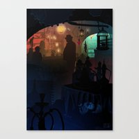 gremlins Canvas Prints featuring Mogwai Not For Sale by Ape Meets Girl