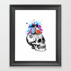 Love, hate, tragedy... Framed Art Print