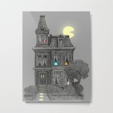 Haunted by the 80's Metal Print