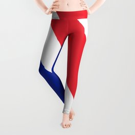 Flag of France, Authentic color & scale Leggings