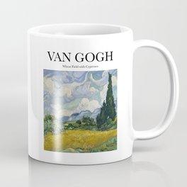 Van Gogh - Wheatfield with Cypresses Coffee Mug