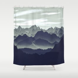Mountains are calling for us Shower Curtain