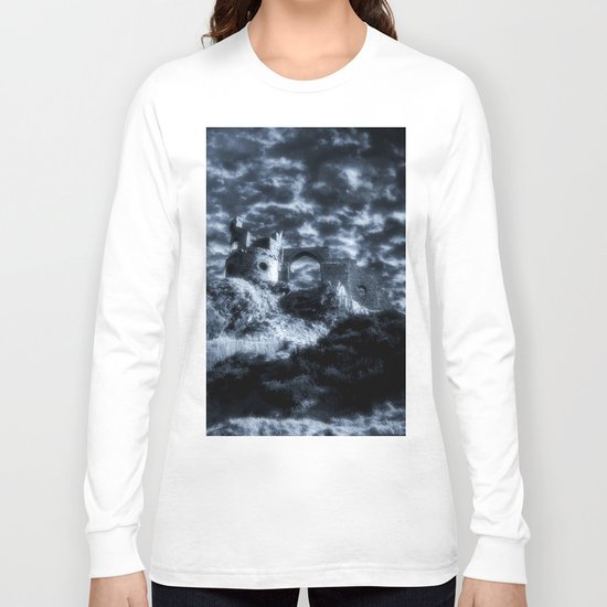 Stormy Castle Long Sleeve T-shirt