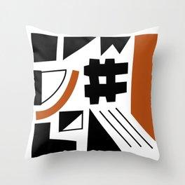 Afrik Throw Pillow