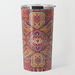 Heriz Azerbaijan Northwest Persian Carpet Print Travel Mug