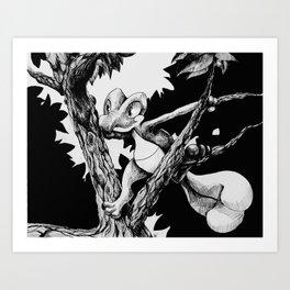Treecko Art Print