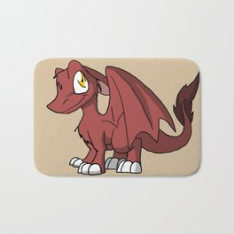 Chocoberry SD Furry Dragon Bath Mat
