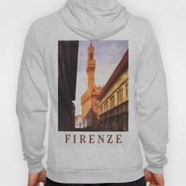 Vintage Florence Italy Travel Hoody