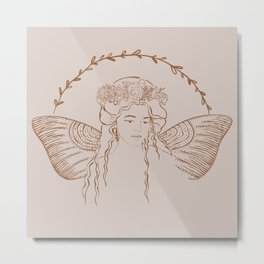 Blush Fairy Princess Metal Print