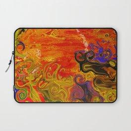 Orange Emotion Laptop Sleeve
