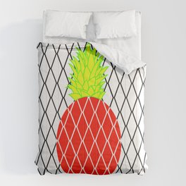 DIAMANTE PINEAPPLE RED Comforters