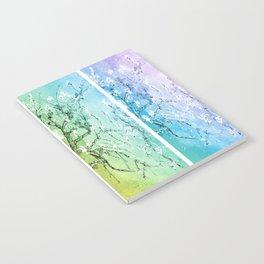Van Gogh Almond Blossoms : Pastel Rainbows Panel Art Notebook