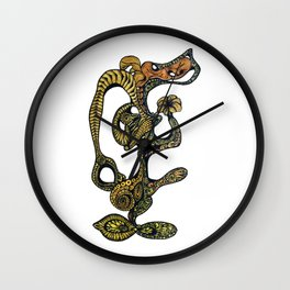 Primordial Life Wall Clock