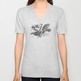caw and crow Unisex V-Neck