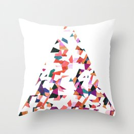 Vivaldi abstraction Throw Pillow