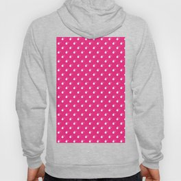 HOT PINK & WHITE BOMB DIGGITYS ALL OVER LARGE Hoody