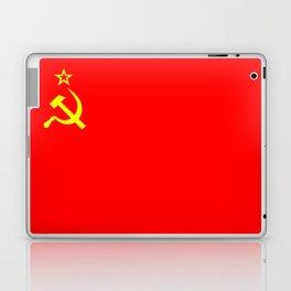 ussr cccp russia soviet union communist flag Laptop & iPad Skin