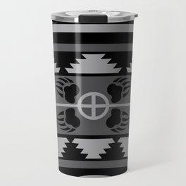 Bear Spirit (Gray) Travel Mug