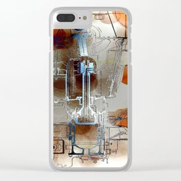 Plans  & Dreams Clear iPhone Case