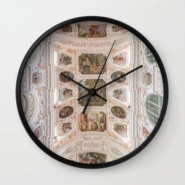 Waldsassen Basilica Ceiling (Choir) Wall Clock