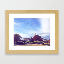 Capitol, My Capitol Framed Art Print
