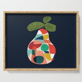 Fresh Pear Serving Tray