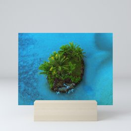 Tiny Island Tropical Oasis Mini Art Print