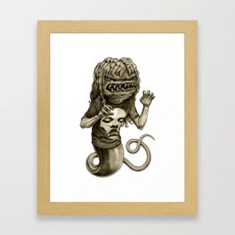 Demon Framed Art Print