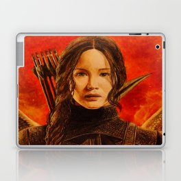 Katniss Everdeen Laptop & iPad Skin