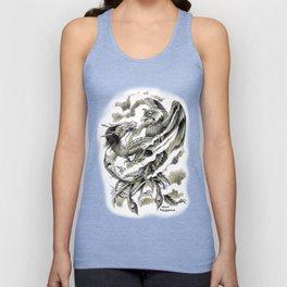 Dragon Phoenix Tattoo Art Print Unisex Tank Top
