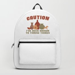 Pottery Gift Backpack
