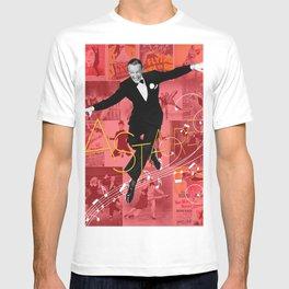 Astaire Collage Portrait 1 T-shirt