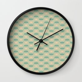Interlocking Jellybeans Wall Clock