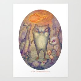 The Centennial Sun Art Print
