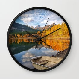 Peace and Magic Wall Clock