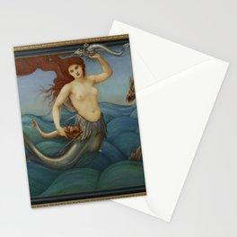 Edward Burne-Jones - A Sea-Nymph Stationery Cards