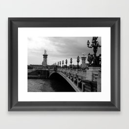 Pont Alexander - Paris Framed Art Print