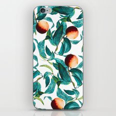 Fruit and Leaf Pattern iPhone & iPod Skin