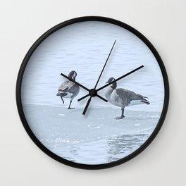 Got Cold Feet? Wall Clock