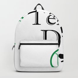 Tennis Dad Fathers Day Gift Love Tennis Backpack
