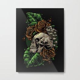 Have a Nice Die Metal Print