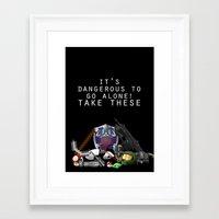 gamer Framed Art Prints featuring Gamer  by Ioana Muresan