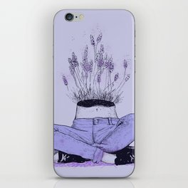 Lavender Me iPhone Skin