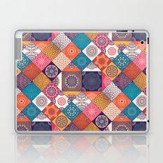 Boho Quilt Pattern Laptop & iPad Skin