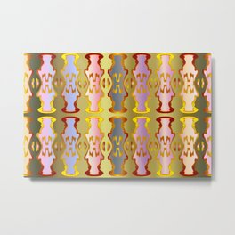 Pattern by different pairs Metal Print