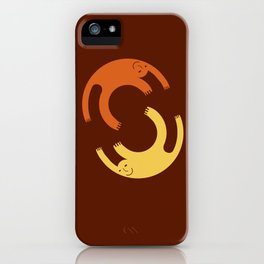 Me and me (designer) iPhone Case