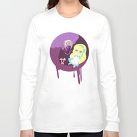 wonderland Long Sleeve T-shirts featuring Wonderland by Juliana E. Gonzalez